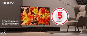 """Sony 4K ANDROID 65"""" TV 65XG8096 Garancija 5 godina !!!"""