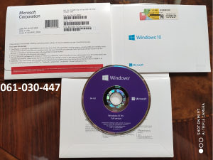 Windows 10 Pro DVD ORIGINAL Licenca kljuc naljepnica