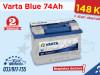 Akumulator Varta Blue 74Ah - 148 KM # BESPLATNA DOSTAVA