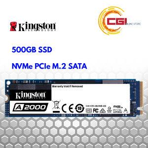 Kingston A2000 500GB NVMe M.2 2200/2000 MB/s