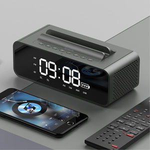 Smart Wireless Bluetooth Audio Bedside Alarm sat