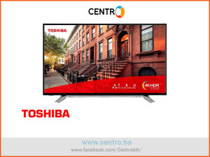 "TOSHIBA TV 43UL2A63DG D-LED,43""-108 cm,4KUltraHD,Smart"