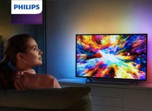 """Philips 4K 43"""" ANDROID 43PUS7303 Ambilight TV PUS7303"""