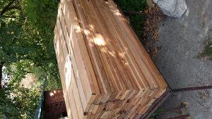 Drvene letve za ogradu
