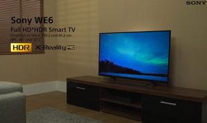 """Sony 40"""" LED Smart WiFi TV 40WE665 FullHD 400Hz"""