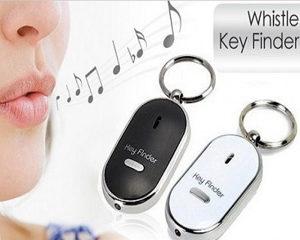 Privjesak za kljuceve zvizduk alarm led kljucevi