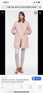 Mantil/ kaput MAX&Co ORGINAL jesen/zima (skoro Nov)