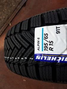 195 65 15 Michelin alpin 6 zimske gume m+s