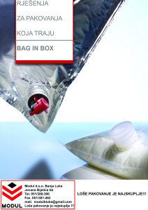Bag-in-box kese za sokove od 3L, 5L, 10L i 20L