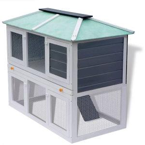 Drveni kavez za zečeve