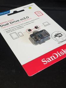 USB STIK SANDISK 16GB DUAL DRIVE 3.0