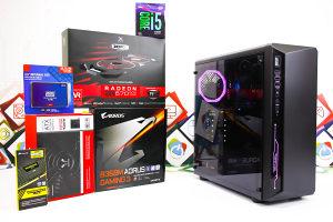 Gaming PC Sapphire 3; i5-9400F; RX 570; SSD; HDD; DDR4