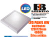 LED PANEL/LED PANELI 6W Nadžbukni 120X120mm 4000K