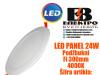 LED PANEL/LED PANELI 24W Podžbukni Fi300mm 4000K