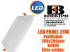 LED PANEL/LED PANELI 24W Podžbukni 298X298mm 4000K