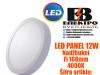 LED PANEL/LED PANELI 12W Nadžbukni Fi168mm 4000K