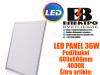 LED PANEL/LED PANELI 36W Podžbukni 600X600mm 6500K