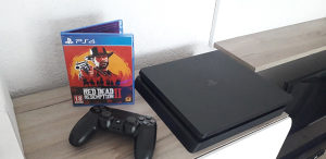 PS4 Playstation 4 Slim 500GB RDR2 Fortnite Apex PES19
