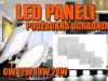 LED PANELI/LED PANEL PODŽBUKNI 6W,12W,18W,24W