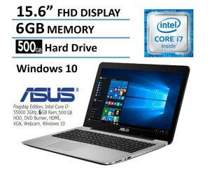 """Laptop ASUS i7 5500U,15,6"""" FullHD,6GB,500GB HDD,Intel"""