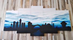 Umjetničke slike po narudžbi (rucni rad)