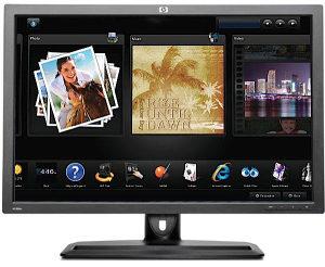 """Monitor 30"""" HP ZR30w  S-IPS QHD led  2560x1600"""