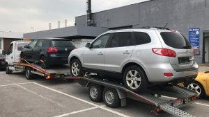 Prikolica za prevoz auta automobila vozila