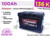 Akumulatori TITANIUM 100Ah - Besplatna dostava!