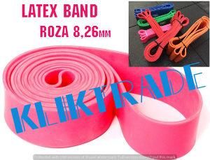 SET LATEX BAND 2x8,26 Elastične Trake Pilates Fitnes