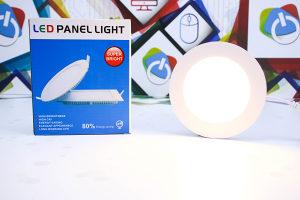 LED panel 6W ugradbeni okrugli Warm white Topla bijela