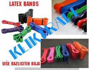 SET LATEX BAND 4,45 i 6,35 Elastične Trake Pilates