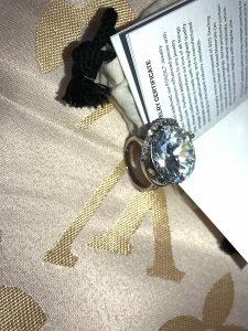 Zarucnicki prsten Fossil srebro