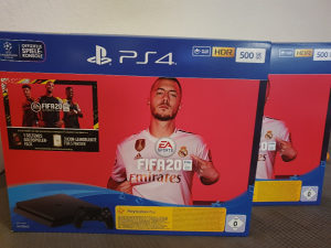 Sony PS4 500GB Slim Playstation + Fifa 20 500 GB