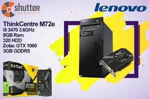 AKCIJA!! Lenovo M72e Gaming PC i5 3470 / GTX 1060
