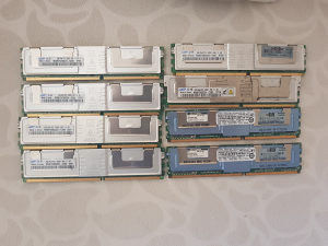 DDR2 18GB ECC RAM za server