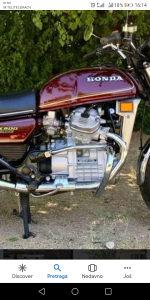 Masina za hondu cx 500 ccm