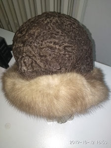 Kapa od krzna prirodnog