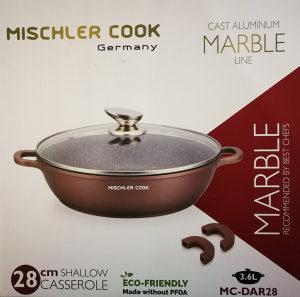 Mischler cook tava / tiganj / šerpa 28 cm (boja crna)