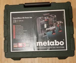 METABO POWERMAXX BS SET 10,8 VOLTI !!