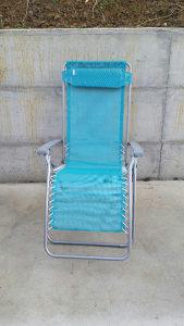 Lezaljka za plazu stolica