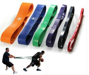 SET LATEX BAND 2x2,86 Trening Traka Pilates Fitnes