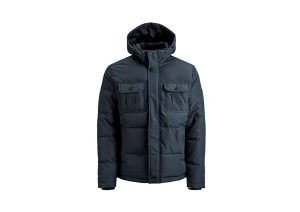 Jakna Jack and Jones Puffer Coat muška 12156004-NAVY