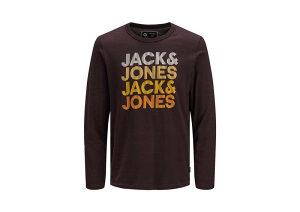 Majica Jack and Jones Jcoaustini muška 12157989-FUDGE