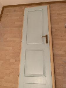 Vrata puno drvo za WC