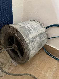 Trofazni motor za ventilaciju