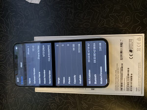 iPhone XS Max Silver 64GB SimFree Full Pack