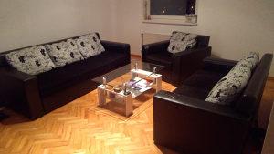 Garnitura-trosjed, dvosjed i fotelja