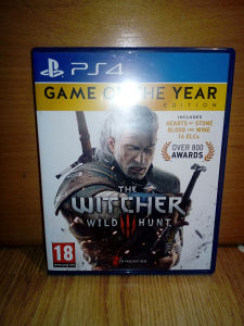 THE WITCHER 3 PS4 IGRICA