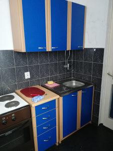 kuhinjski namjestaj sporet mali bojler