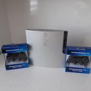 PS3 slim Limited edition Cipovan 320gb 50igara Fifa19 G